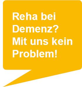 Reha bei Demenz- Mit uns kein Problem